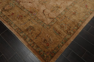8' x 11' Hand Knotted 100% Wool Tea Wash Persian Oriental Area Rug Traditional