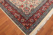"9' x 12'6"" 300 KPSI Hand Knotted 100% Wool Persian Oriental Area Rug"