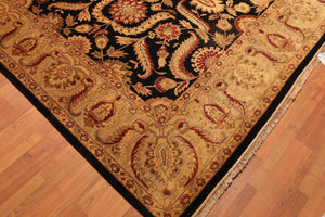 "8'10"" x 12'3"" Hand Knotted Tea Wash 100% Wool Persian Oriental Area Rug"