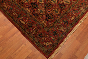 "8'3"" x 11'3"" Hand Knotted 100% Wool Persian Oriental Area Rug Traditional"