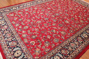 "8'3"" x 11'10"" Hand Knotted Wool Khorasan 250 KPSI Persian Oriental Area Rug"