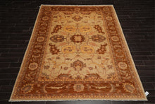 "8'10""x12'4"" Hand Knotted Authentic Turkish Oushak Wool Persian Oriental Area Rug"