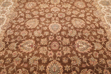 "8'9"" x 11'10"" Hand Knotted Wool Agra 200 KPSI Persian Oriental Area Rug"