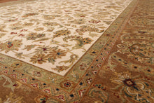 "9'2"" x 12' Masterpiece Hand Knotted Agra 200 KPSI Wool Persian Oriental Area Rug"