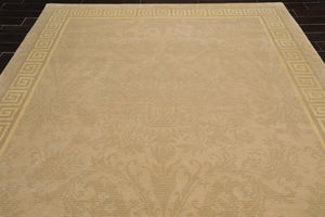 "9' x 12'2"" Hand Knotted Agra 100% Wool Persian Oriental Area Rug Traditional"