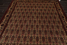 6x9 Ivory, Rust, Turquoise Color Hand Knotted Persian 100% Wool Traditional 200 KPSI Oriental Rug