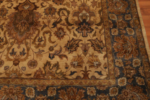 "8'8"" x 11'10"" Hand Knotted Agra Tea Wash 100% Wool Persian Oriental Area Rug"