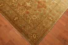 "8'1"" x 9'8"" Hand Knotted 200 KPSI Tea Wash 100% Wool Persian Oriental Area Rug"