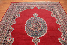 "8'1"" x 10'2"" Hand Knotted Jaipur 100% Wool Persian Oriental Area Rug"