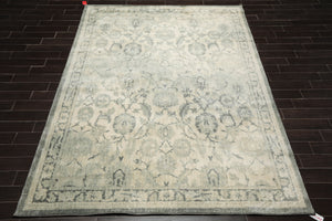 8x10 Machine Made Persian Polypropylene Traditional Oriental Area Rug Beige, Gray Color