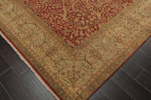 "8'11"" x 11'10"" Hand Knotted Restoration Hardware look Wool & Silk Area Rug"