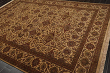 8' x 10' Hand Knotted Turkish Oushak 100% Wool Persian Oriental Area Rug 8x10