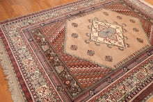 "6'11"" x 9'8"" Hand Knotted Authentic Turkish 100% Wool Persian Oriental Area Rug"