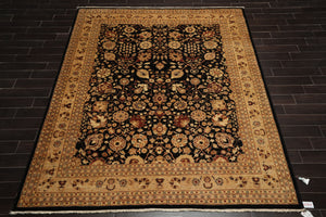 "6'10"" x 10' Hand Knotted 200 KPSI 100% Wool Persian Oriental Area Rug 8x10"