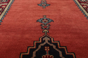 "8'1"" x 10' Hand Knotted 100% Wool Persian Oriental Area Rug Traditional"