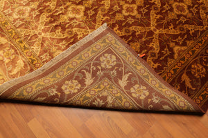 "7'6""x9'5"" Hand Knotted Gold Wash 200KPSI Silky Sheen Persian Oriental Area Rug"