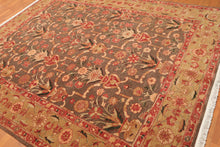 "7'9"" x 9'9"" Hand Knotted Vase Design 100% Wool Persian Oriental Area Rug"