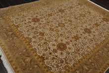 8x10 Hand Knotted Persian 100% Wool Traditional 300 KPSI Oriental Area Rug Beige, Taupe Color