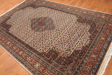 "6'5"" x 9'10"" Hand Knotted S. Fine Tabriiz 100% Wool Persian Oriental Area Rug"