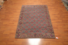"6' x 8'4"" Hand Knotted Classic European 100% Wool Tibetan Oriental Area Rug"