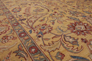 "6'1"" x 9'5"" Nourison Hand Knotted 100% Wool Reversible Soumak Fatweave Area Rug"