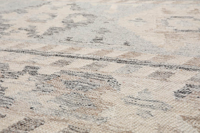 5'x8' Beige Green Red Color Hand Tufted Loop Pile Area Rug Polypropylene Modern & Contemporary Oriental Rug