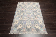 3x5 Hand Knotted 100% Wool Gabbeh Modern & Contemporary Oriental Area Rug Tan, Red Color