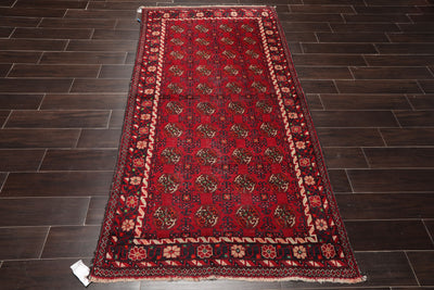 3' 10''x7' 3'' Hand Knotted  Wool Oriental Area Persian Rug