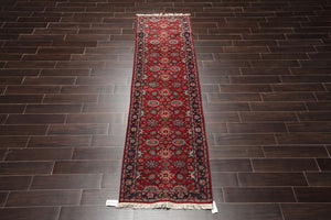 2' 7''x16'  Hand Knotted  Wool Oriental Area Persian Rug