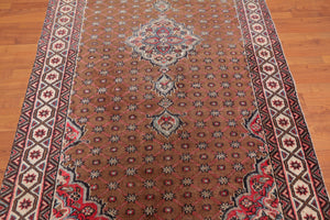 "4'9"" x 7'9"" Hand Knotted 100% Wool Persian Oriental Area Rug Traditional"