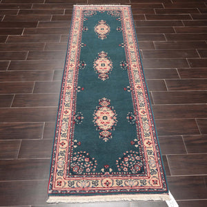 "7'10"" x 11'3"" Handmade 100% Wool Pile Area rug Traditional"