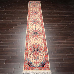 "3'6""x6'5"" Deep Red Black Ivory, Aqua, Multi Color Hand Knotted Persian Oriental Area Rug 100% Wool Traditional Oriental Rug"