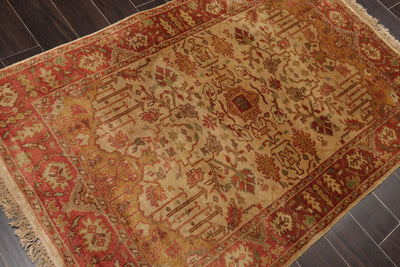 8'x11' Slate Green Ivory Rose, Grey, Brown, Red, Multi Color Hand Tufted Thick Pile Aubusson Area Rug 100% Wool Traditional Oriental Rug