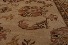 8' x10'  Taupe Caramel Brown Color Machine Made Persian 100% Wool Modern & Contemporary Oriental Rug