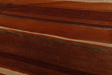 5' x7'  Ombre Aubergine Color Hand Tufted Persian 100% Wool Modern & Contemporary Oriental Rug