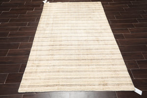 5' x7' 4'' Hand Made  Wool Oriental Area Persian Rug
