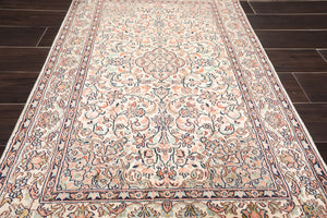 2' 6''x4' Hand Knotted Silk Oriental Area Persian Rug