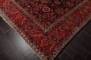 10' 10''x13' 9''Hand Knotted Wool Oriental Area Persian Rug