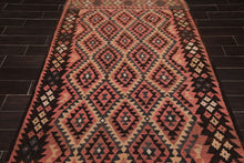 "4'9""x10' Rose Rust Chocolate, Blue, Beige, Multi Color Hand Knotted Persian Oriental Area Rug Wool Traditional Oriental Rug"