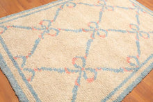 Wool Shag Rug - Hand Knotted 100% Portuguese Wool Moroccan Style Area Rug 6'x9' | Oriental Rug of Houston