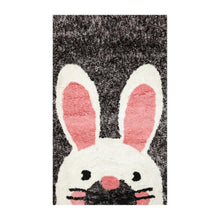Oriental Area Rug Hand Tufted Polyster/Cotton Blend Novelty Animal Shag  Super Soft (3'x5')