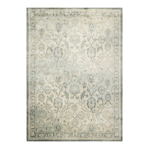 07' 11''x11' 00'' Beige Gray Color Machine Made Persian Polypropylene Traditional Oriental Rug