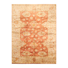 06' 00''x09' 00'' Burnt Orange Taupe Gray Color Hand Knotted Persian 100% Wool Traditional Oriental Rug