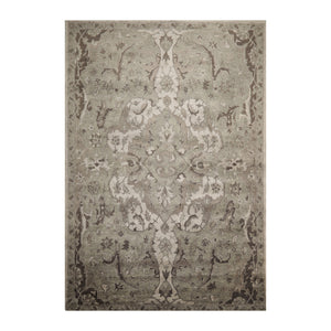 10' x14'  Light Gray Moss Dark Gray Color Hand Tufted Persian 100% Wool Traditional Oriental Rug