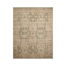 8' x10'  Mint Green Tan Color Hand Tufted Persian 100% Wool Traditional Oriental Rug