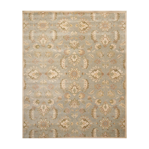 8' x10'  Gray Beige Brown Color Hand Tufted Persian 100% Wool Traditional Oriental Rug
