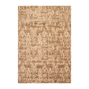 5' x7'  Taupe Beige Tan Color Machine Made Persian Wool and Bamboo Traditional Oriental Rug