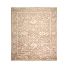 10' x14'  Brown Taupe Beige Color Hand Knotted Tibetan 100% Wool Modern & Contemporary Oriental Rug