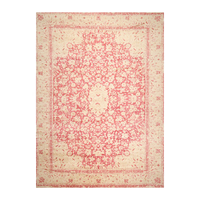 10' x14'  Pomegranate Beige Color Hand Knotted Persian 100% Wool Modern & Contemporary Oriental Rug