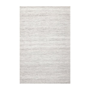 4' x6'  Silver Gray Off White Color Hand Woven Dhurry 100% Wool Traditional Oriental Rug